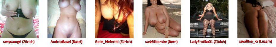 Reife Frauen aus der Schweiz suchen erotische Kontakte und Sextreffen